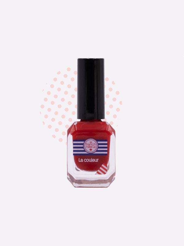 La couleur rouge iconique Le French Make-up