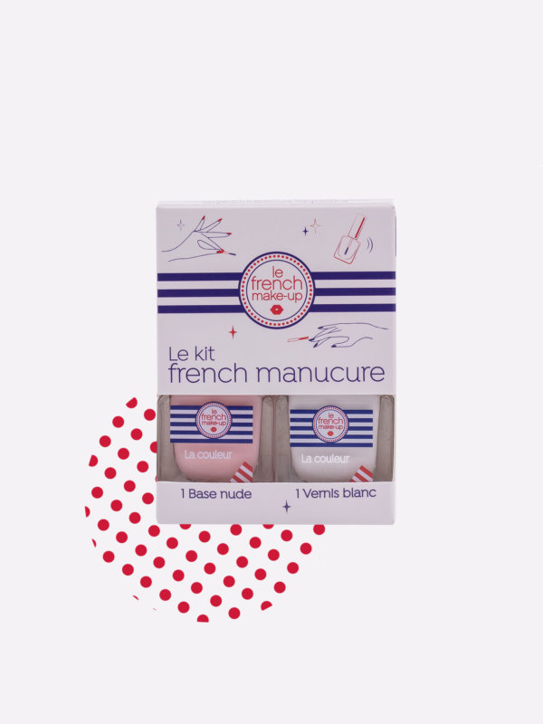 Vernis à Ongles kit French Manucure