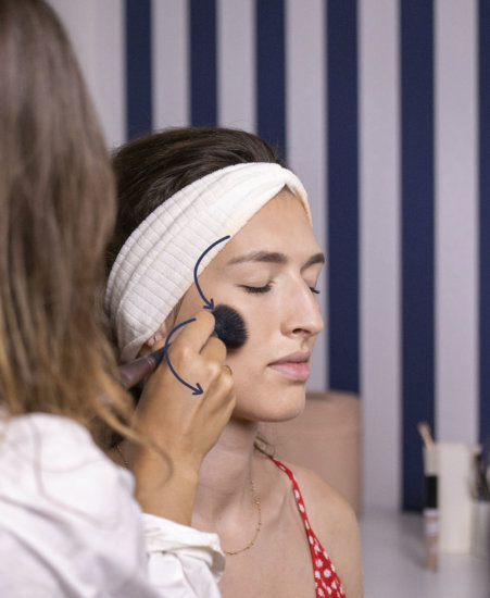 tutoriel beauté le teint Le French Make Up