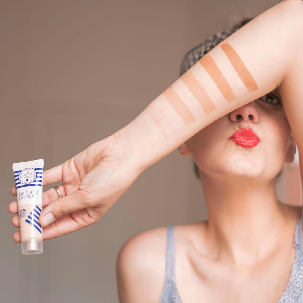 Fond de teint Le French make-up