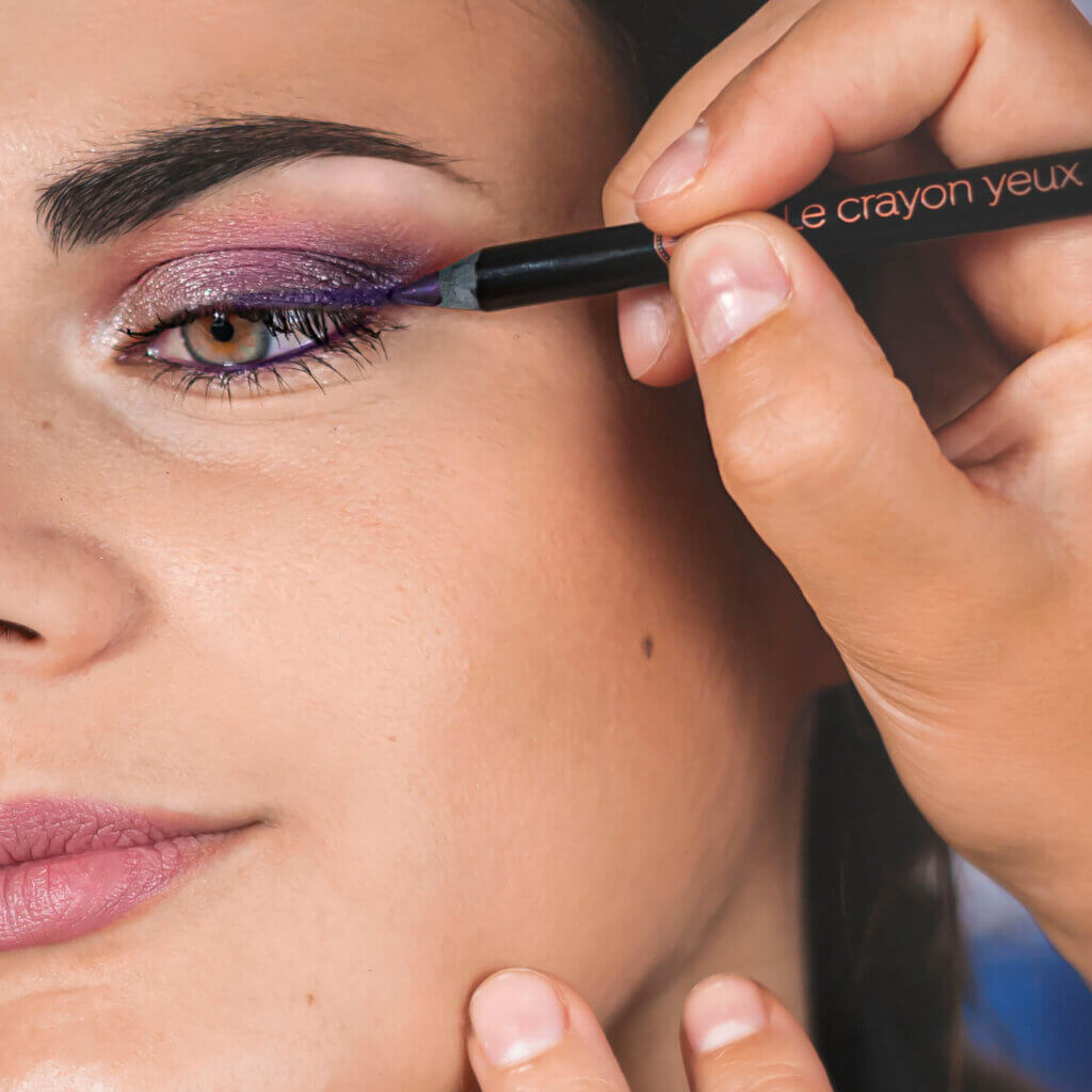 Maquillage yeux Le French make-up